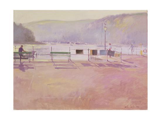 Day Break, Fowey, 1991-Timothy Easton-Giclee Print