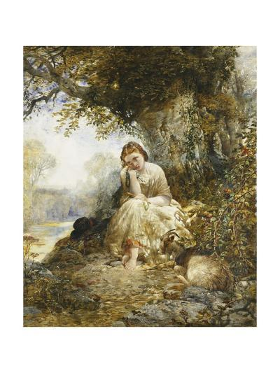 Day Dreaming-Arthur Joseph Woolmer-Giclee Print