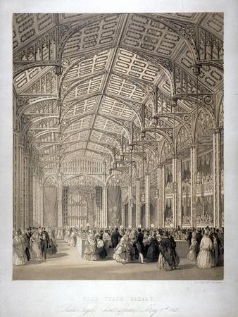 Free Trade Bazaar in Covent Garden Theatre, London, 1845