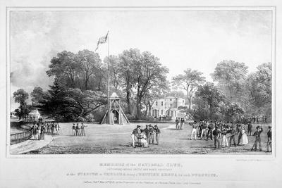Members of the National Club, Chelsea, 1831