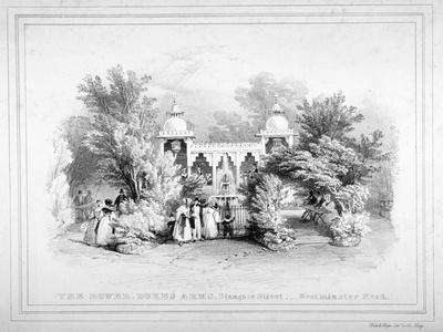 The Duke's Arms Tavern, Stangate Street, Lambeth, London, C1830