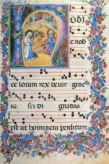 Day Hours and Night Hours Antiphonary From First Saturday of Advent To IV Sunday After Epiphany--Giclee Print