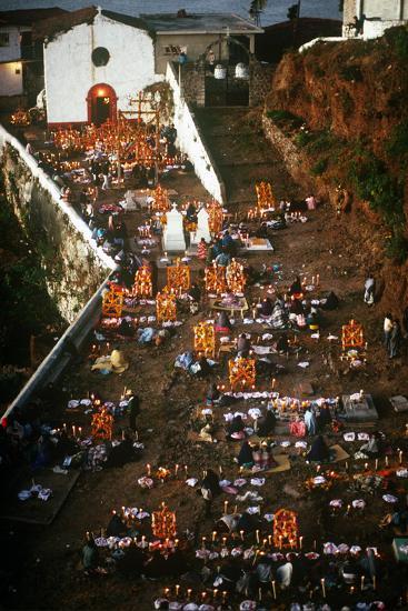 Day of the Dead Celebration, Janitizio, Michoacan, Mexico--Photographic Print
