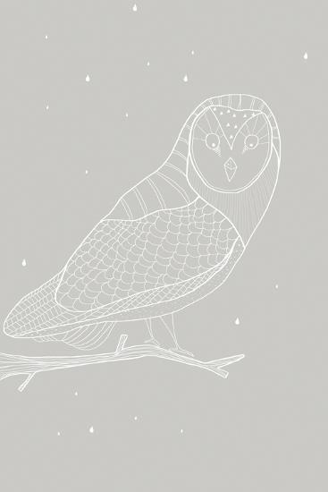 Day Owl-Myriam Tebbakha-Art Print