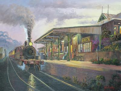 Day's End - Morpeth-John Bradley-Giclee Print