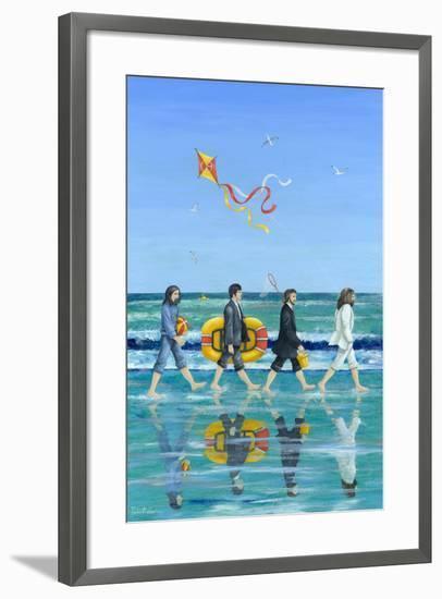 Day Tripper-Peter Adderley-Framed Premium Giclee Print