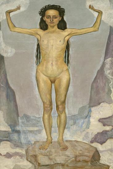 Day (Truth), 1896-98-Ferdinand Hodler-Giclee Print