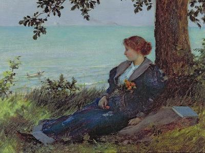 Daydreams-Charles Courtney Curran-Giclee Print