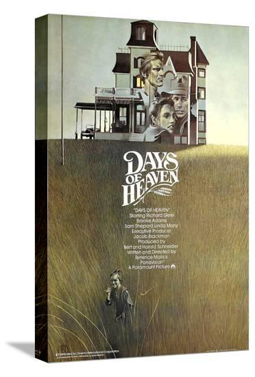 Days of Heaven--Stretched Canvas Print