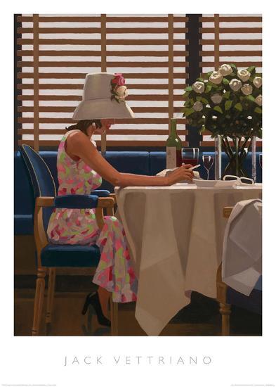 Days of Wine & Roses-Jack Vettriano-Art Print