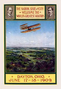Dayton, Ohio Welcomes the Wright Brothers