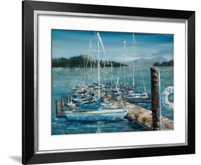 Dayton Sails-Jodi Monahan-Framed Art Print