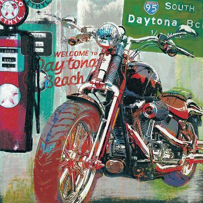 Daytona Beach-Ray Foster-Art Print