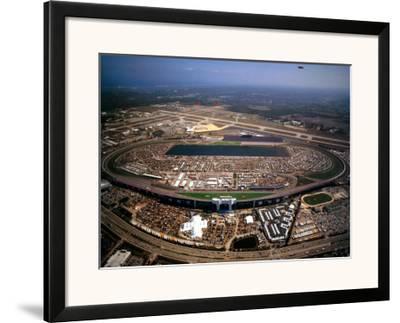 Daytona International Speedway - Daytona Beach, Florida-Mike Smith-Framed Art Print