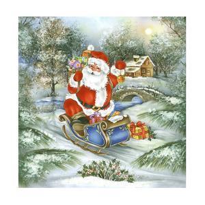 Santa by DBK-Art Licensing