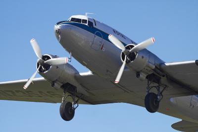 DC3 (Douglas C-47 Dakota), Airshow-David Wall-Photographic Print