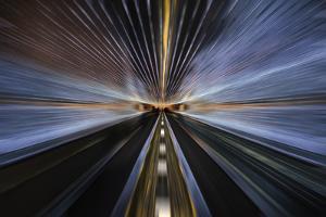 Tunnel Lights by ddmitr
