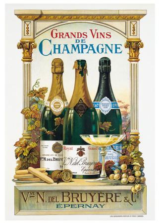 De Champagne-Arnold Eyckermans-Art Print
