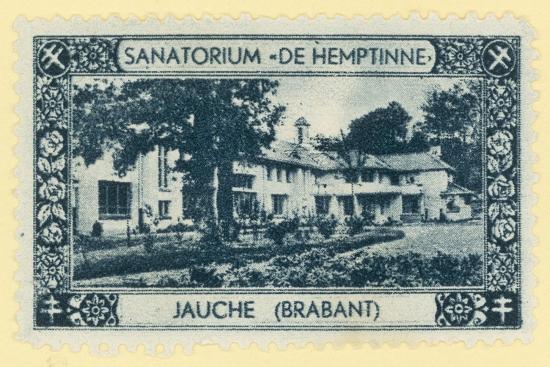 De Hemptinne Sanatorium, Jauche, Brabant, Belgium--Giclee Print