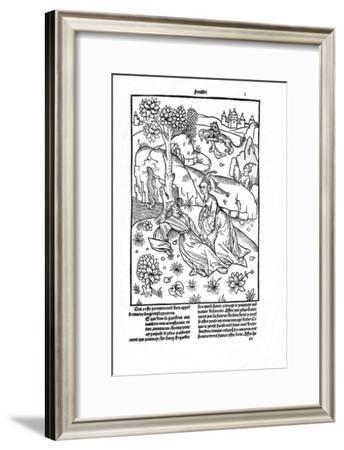'De la généalogie des dieux', 1498-1499 (1947)-Giovanni di Boccace-Framed Giclee Print