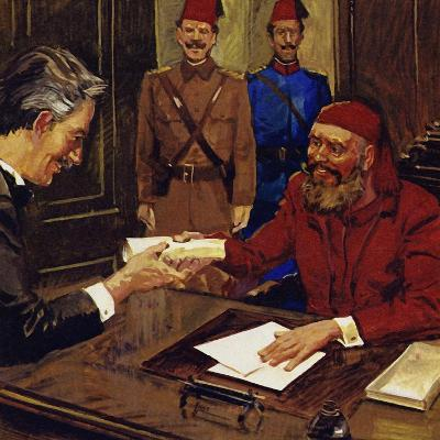 De Lesseps Was Given the Task of Building the Suez Canal--Giclee Print