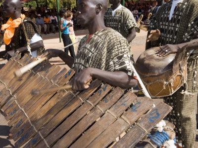 Balafon Players During Festivities, Sikasso, Mali, Africa