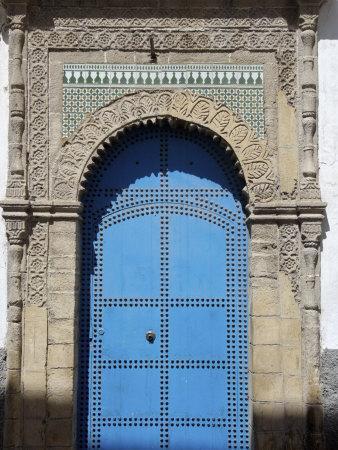 Blue Door, Essaouira, Morocco, North Africa, Africa