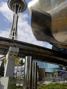 Experience Music Project, the World's Only Hands-On Music Museum, Seattle, Washington State, USA by De Mann Jean-Pierre
