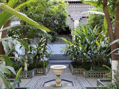 La Bahia Palace, Medina, Marrakesh, Morocco