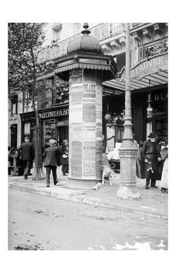 De Passy a Raspail en Metro, 1914-Mireille Havet-Art Print