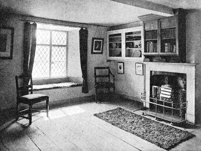 De Quincey's Home, Doce Cottage, Grasmere, 1923--Giclee Print