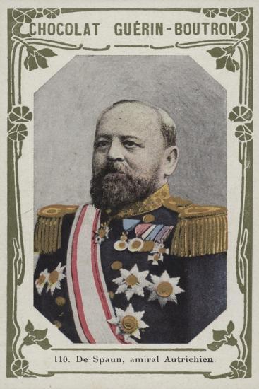 De Spaun, Amiral Autrichien--Giclee Print