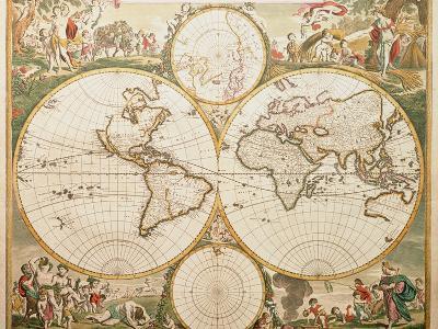 De Wit's Atlas of 1689-George Bernard-Premium Photographic Print