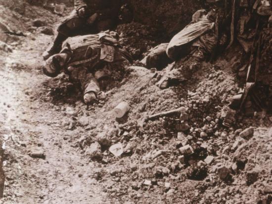 Dead bodies, Beauséjour, northern France, c1914-c1918-Unknown-Photographic Print