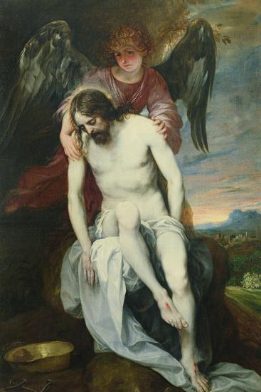 Dead Christ Supported by an Angel, C.1646-52-Alonso Cano-Giclee Print