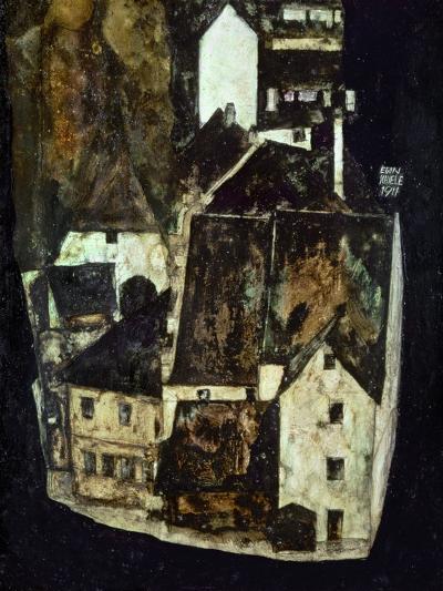 Dead City III (City on the Blue River III), 1911-Egon Schiele-Giclee Print