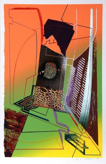 Dead Give Away-William Schwedler-Serigraph