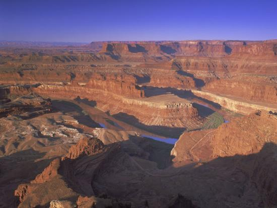 Dead Horse Point Overlook, Canyonlands National Park, Utah, USA-Gavin Hellier-Photographic Print