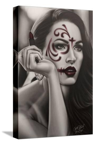 Dead Lipstick- Big Ceeze-Stretched Canvas Print