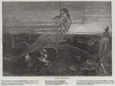 Dead Man Angel Grave Sunrise-John Absolon-Giclee Print
