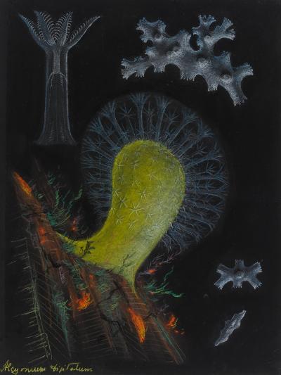 Dead Man's Fingers-Philip Henry Gosse-Giclee Print