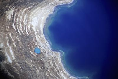 Dead Sea from Above.-Stefano Amantini-Photographic Print