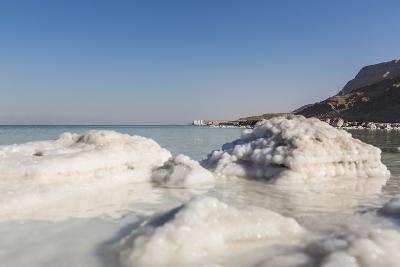 Dead Sea - Salt Deposits-Massimo Borchi-Photographic Print