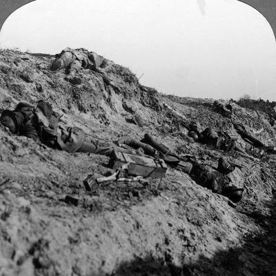 Dead Soldiers, Vimy Ridge, France, World War I, 1914-1918--Photographic Print