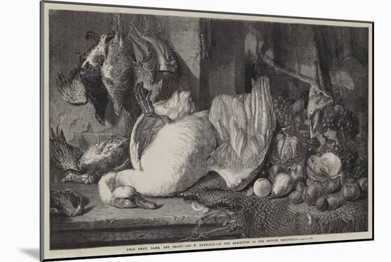 Dead Swan, Game, and Fruit-William Duffield-Mounted Giclee Print