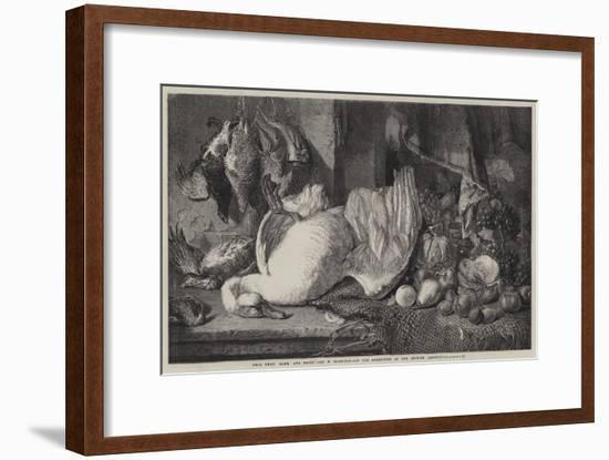 Dead Swan, Game, and Fruit-William Duffield-Framed Giclee Print