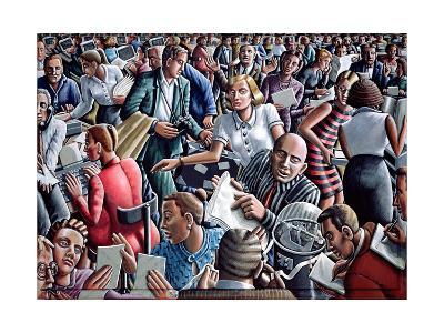Deadline-P.J. Crook-Giclee Print