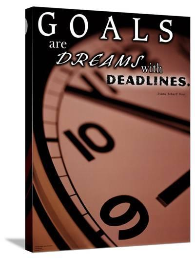 Deadlines--Stretched Canvas Print