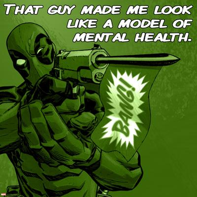 Deadpool - A Model of Mental Health Square