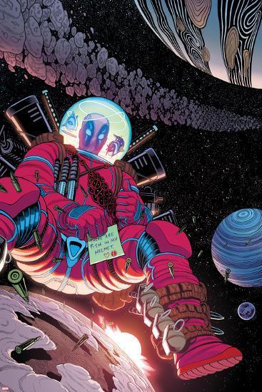 Deadpool Cover Art--Art Print